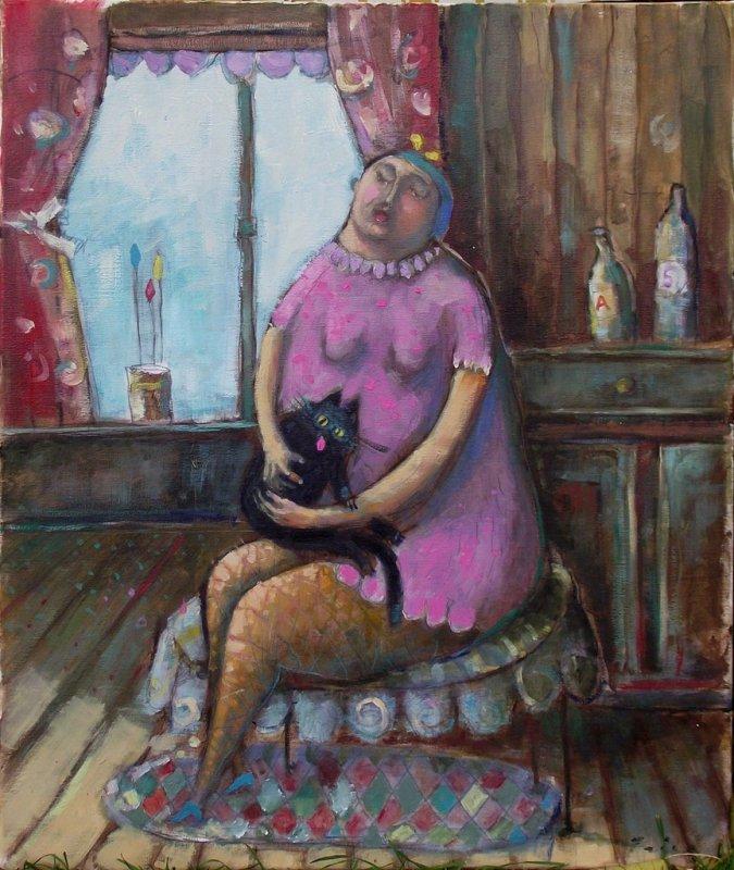 dama i mačka