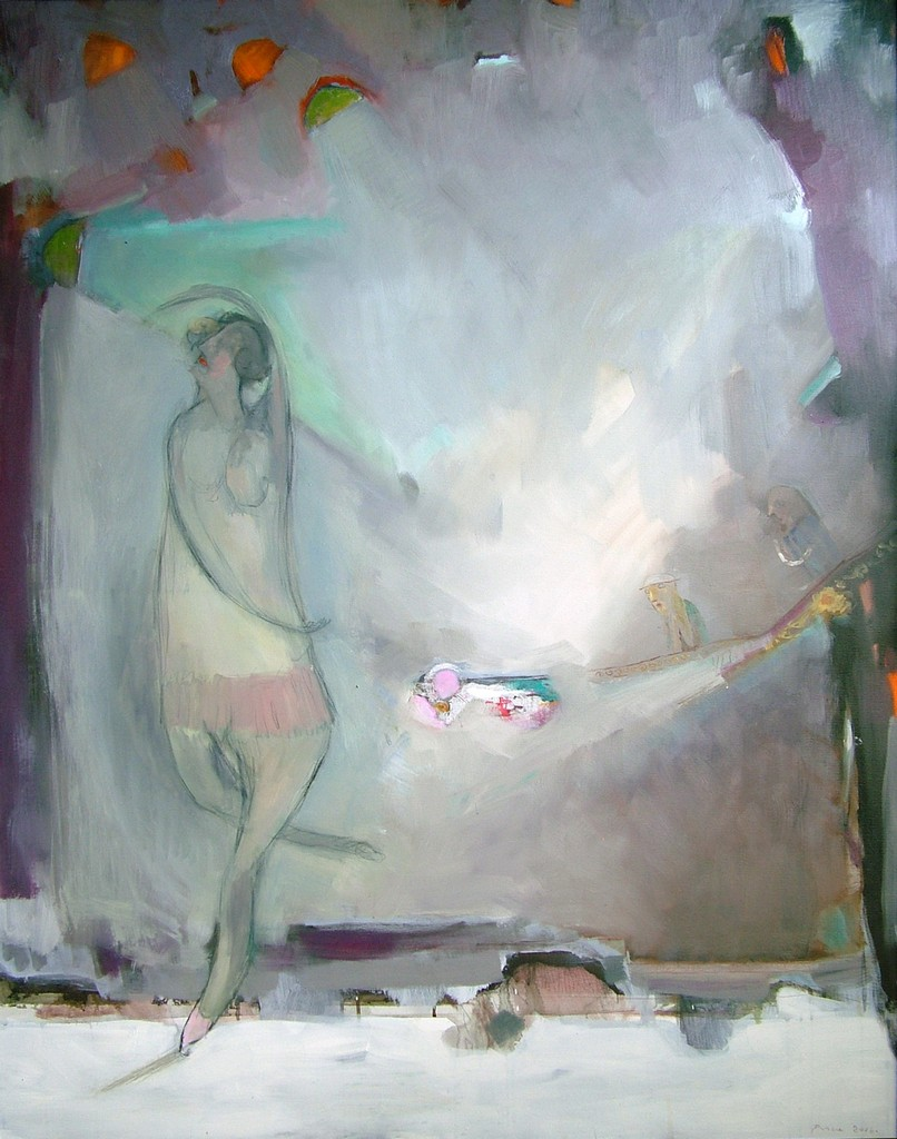 veliki balet, 155x120 cm,ulje na platnu ,1600€